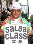 Welcome Amigos to SalsaClass.co.uk with Milo