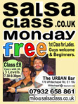 We are now Mondays at the URBAN BAR. Please join us.