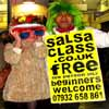 Try a salsa taster class for FREE..